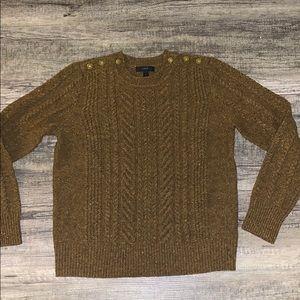 J. Crew multi colored speckled sweater